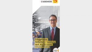 "Flyer ""E-Check: Erfolgsfaktor Sicherheit -"