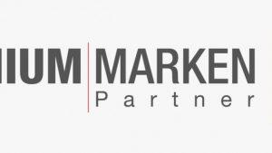 "Aufkleber ""Premium Marken Partner"" 55 x 15 cm"