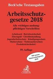 Arbeitsschutzgesetze 2018