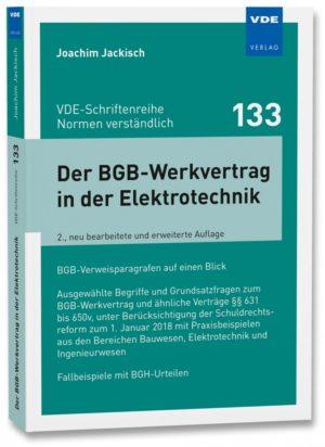 Der BGB-Werkvertrag in der Ele