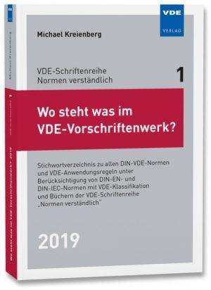 Wo steht was im VDE-Vorschrift