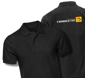 T-Shirt, schwarz Gr. L