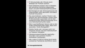"""Sicherheitshinweis """"allgemein"""""""