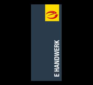 Hochformatfahne E-Handwerk