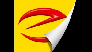 E-Marken-Aufkleber