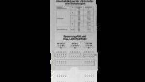VDE-Schieber