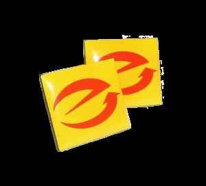 E-Marken Anstecker