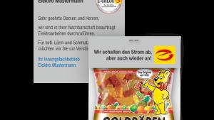 Werbebriefchen E-Marke