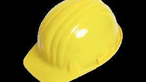 Elektriker-Schutzhelm gelb