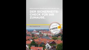 """Flyer """"E-Check: Altbaumodernisierung -"""