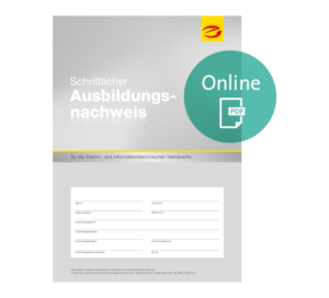 e|Berichtsheft als PDF online