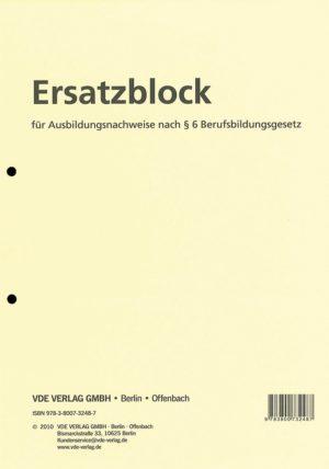 Ersatzblock