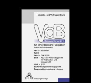 VOB Heft für innerdeutsche