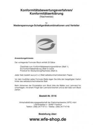 Konformitätsbewertungsverfahren/-erklärung