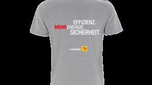 T-Shirt, grau e-Marke Gr. L
