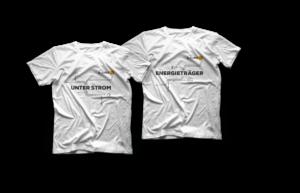 Energieträger-T-Shirt, Gr. L