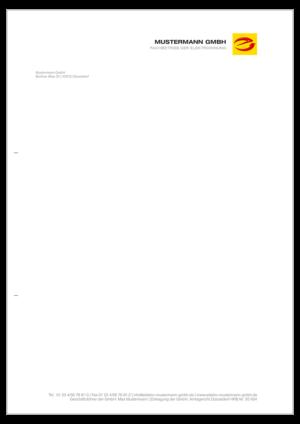 Briefpapier individuell