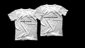 Unter Strom-T-Shirt, Gr. L